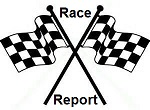 checkered flag crossed Race Report sm